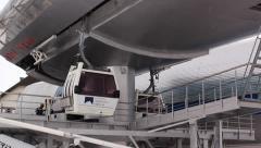 Station Gondola lift Stock Footage