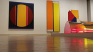 Stock Video Footage of Modern art in Art Gallery of New South Wales (1)