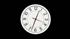 Time Lapse of Clock Stock Footage