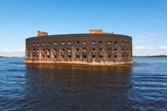 fort alexander (chumnoy) - stock photo