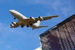 airport flight information - stock photo