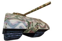 german heavy tank panzer viii mouse - stock photo