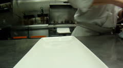 Preparing a burger by time lapse Stock Footage