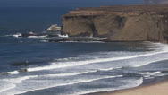 Stock Video Footage of Pacific Coast 02