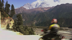 Motobike Stock Footage