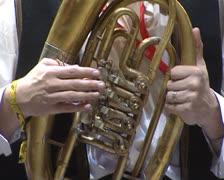 Trumpeter Stock Footage