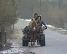 Rural vehicle Stock Footage