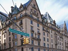 the dakota central park west new york city - stock photo