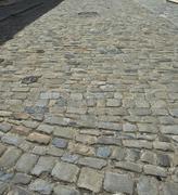 Historical street in cesky krumlov Stock Photos