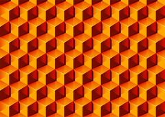 3d pattern Stock Illustration