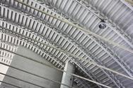 Stock Photo of warehouse roof