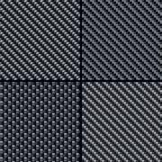 carbon fiber seamless patterns set - stock illustration