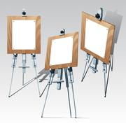 easel - stock illustration