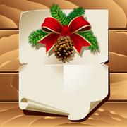 Christmas letter Stock Illustration