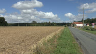 Stock Video Footage of The site of the Battle of Azincourt (Agincourt) 1415, northern France