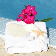 Stock Photo of spa setting