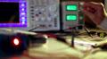 Oscilloscope Footage