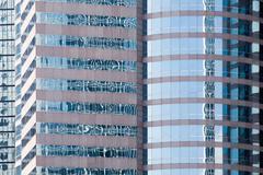 Skyscraper reflections - stock photo