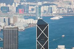 Hong Kong day view Stock Photos