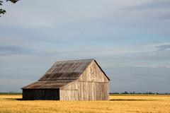 Barn in a rural setting Stock Photos