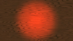 Graphic wood stain and red Stock Footage