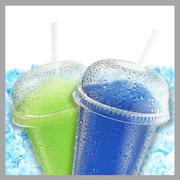 Crushed ice fruit refreshment Stock Illustration