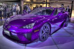 HDR Lexus - stock photo