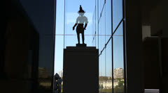 Statue in Art Gallery NSW (Dolly 1) Stock Footage