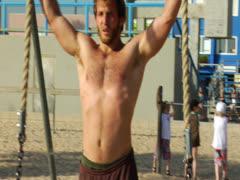 Muscle Beach Venice Beach California Hollywood Los Angeles Landmark Stock Footage