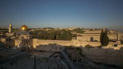Jerusalem Western wall timelapse 4K 0213 1 Stock Footage