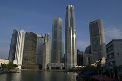 Stock Photo of Singapore Business District