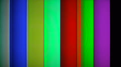 Color bar generator Stock Footage