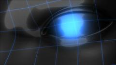 Digital human, fiction, virtual, world, technology. Stock Footage