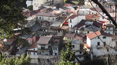 Old City and Old Home / South Italy Stock Footage