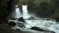 22 02 12North10Waterfall - stock footage