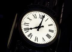 the street clock - stock photo