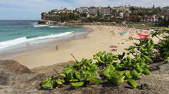 Bronte Beach, Sydney (4) Stock Footage