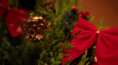 Christmas Tree 02 Stock Footage
