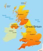 great britain - stock illustration