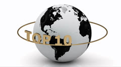 Earth and TOP 10 Stock Footage