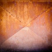 Orange metal texture Stock Photos