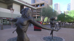 Downtown Phoenix - City Center Stock Footage