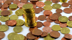 Tower of money Stock Footage