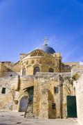 church of the holy sepulcher - stock photo