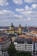 Munich - Leopoldstrasse Stock Photos