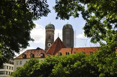 Munich Frauenkirche Stock Photos