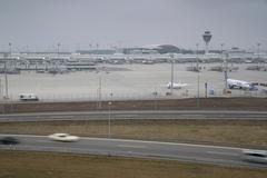Munich Airport Stock Photos