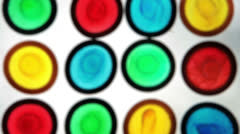 Colourful condoms Stock Footage