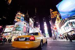 New York City - 26 syyskuu: Times Square Kuvituskuvat