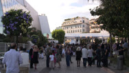 Festival de Cannes Establisher Side Shot Stock Footage